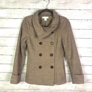 H & M Double Breasted Pea Coat